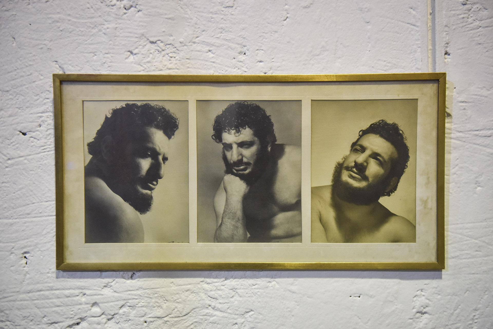 """El gran Martín, el campeón del mundo de lucha libre. Aquel hijo de inmigrantes que desde chico aprendiera lucha grecorromana está presente en todos los rincones. Él es """"Titanes"""""""