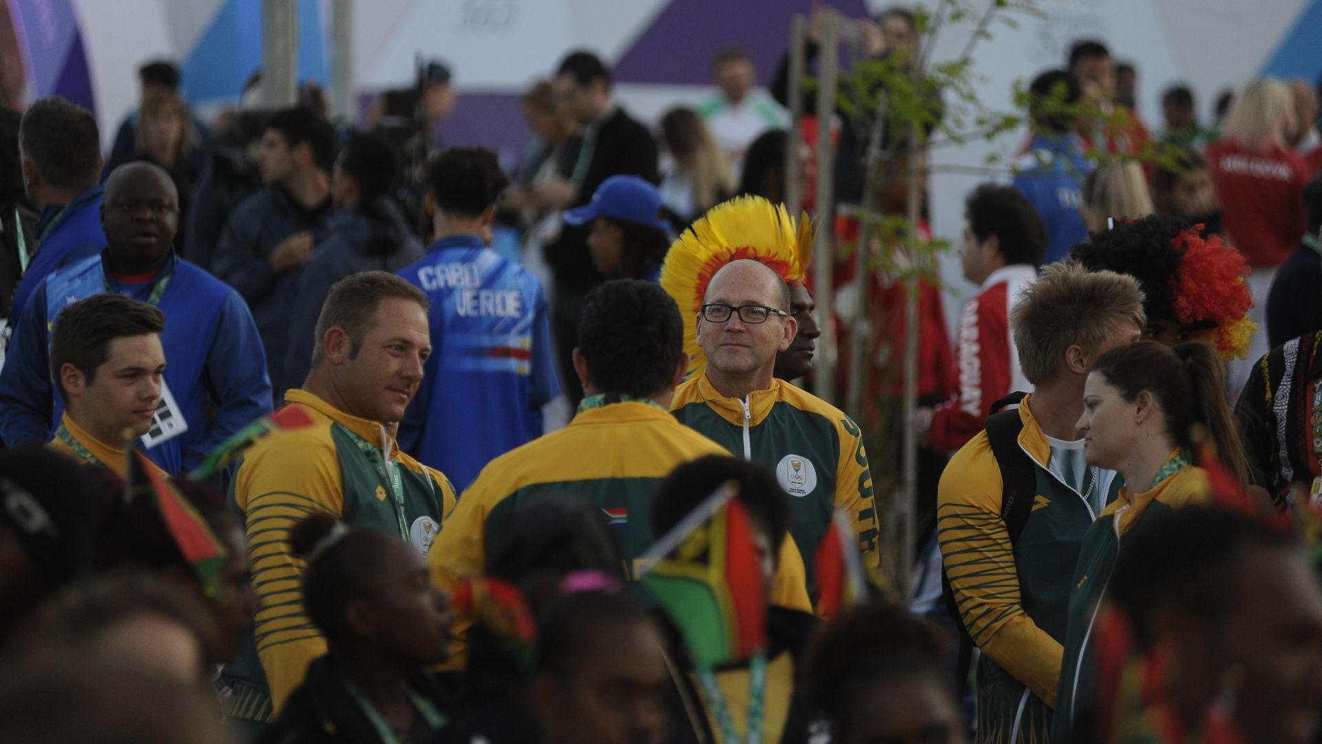 Los sudafricanos aguardan con expectativa la noche de clausura (Patricio Murphy)