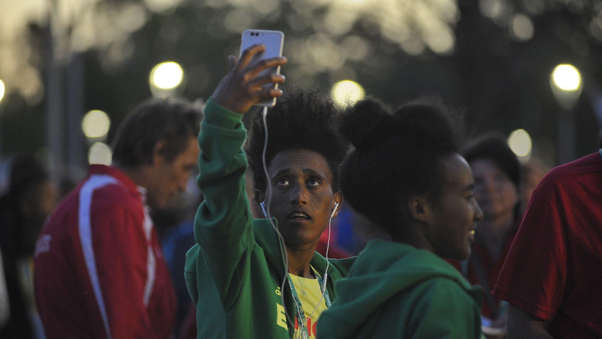 También hubo tiempo para las selfies (Patricio Murphy)