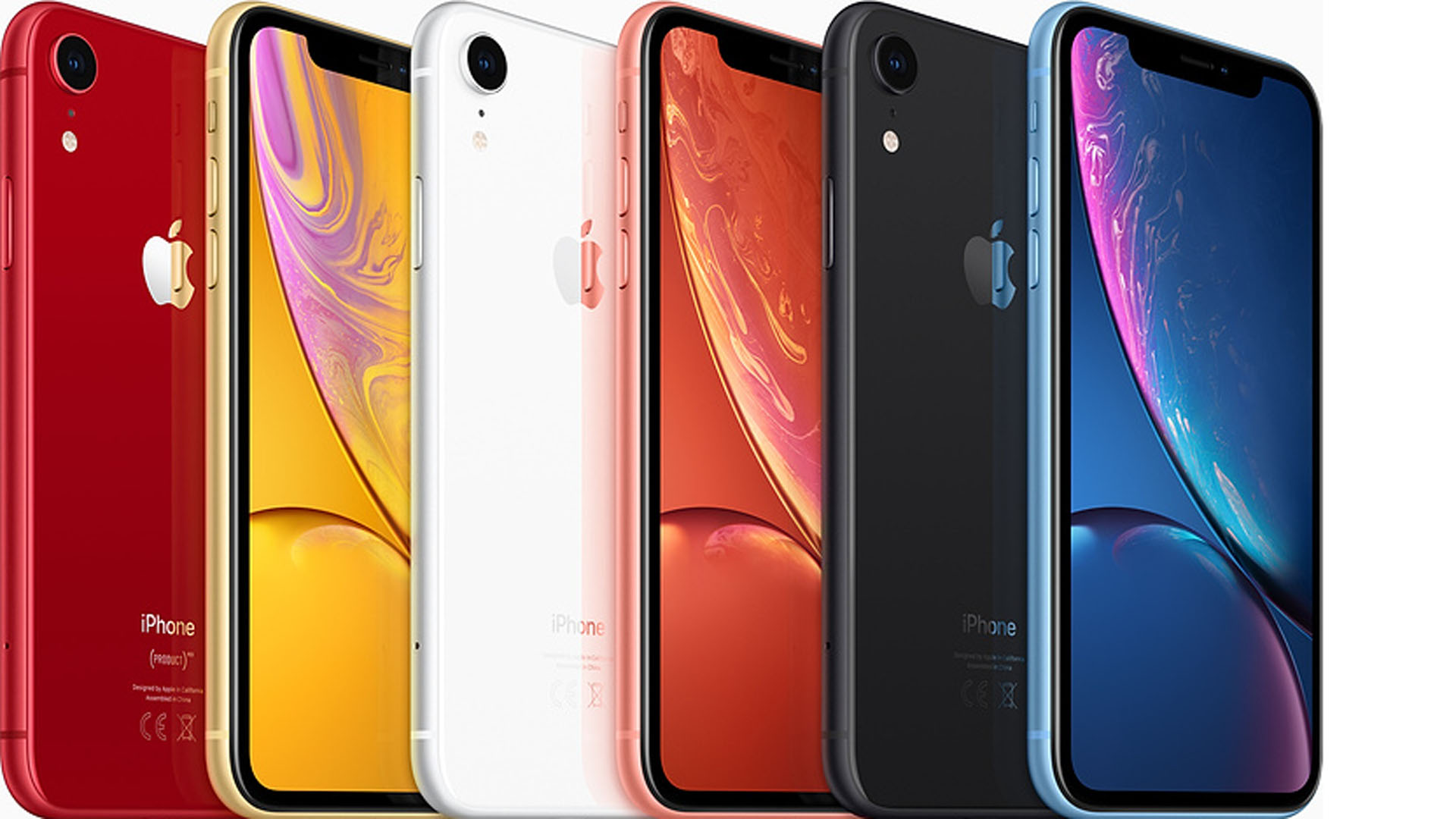 El iPhone XR en tres versiones de 64 GB, 128 GB y 256 GB