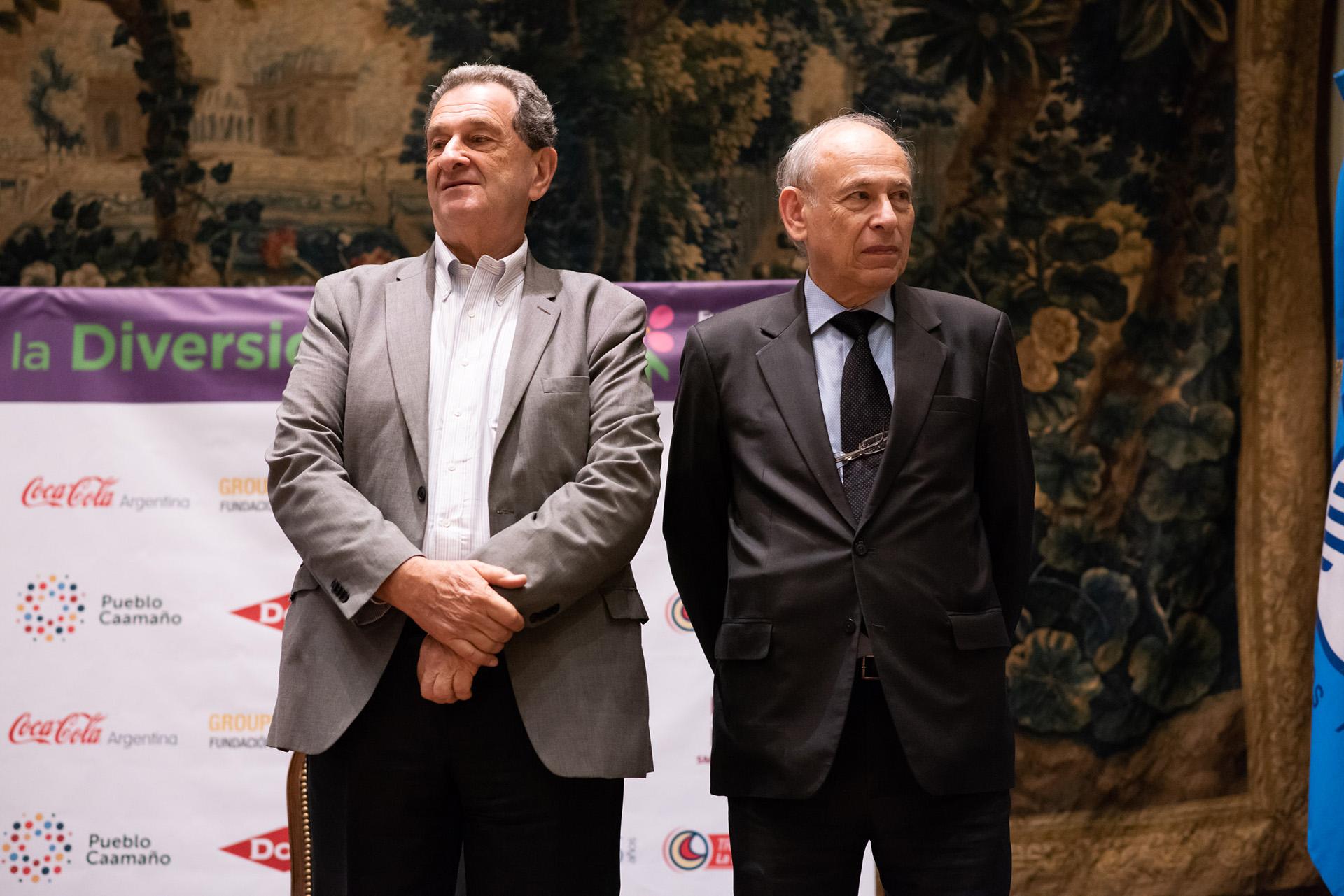 Bernardo Kosacoff y Luis Ovsejevich