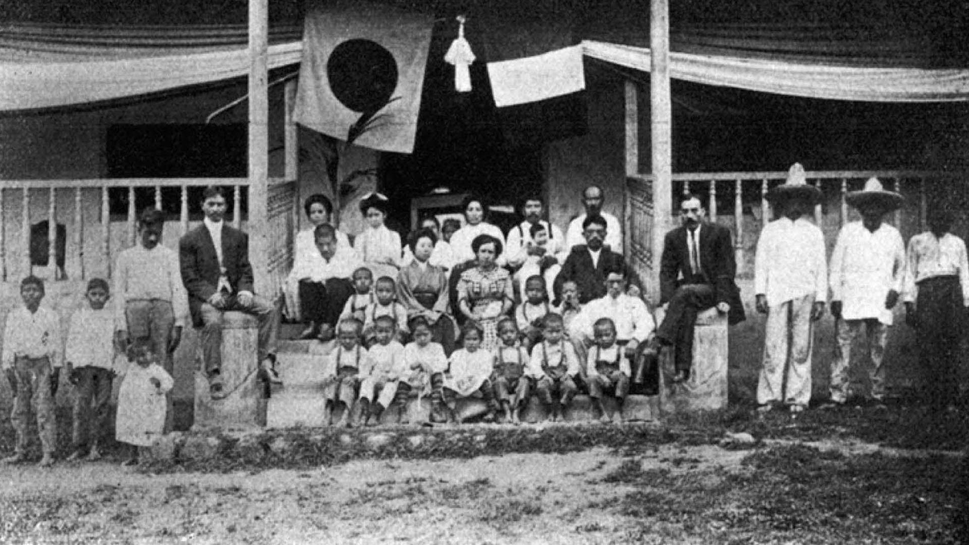 Los japoneses comenzaron a arribar a México a finales del siglo XIX.