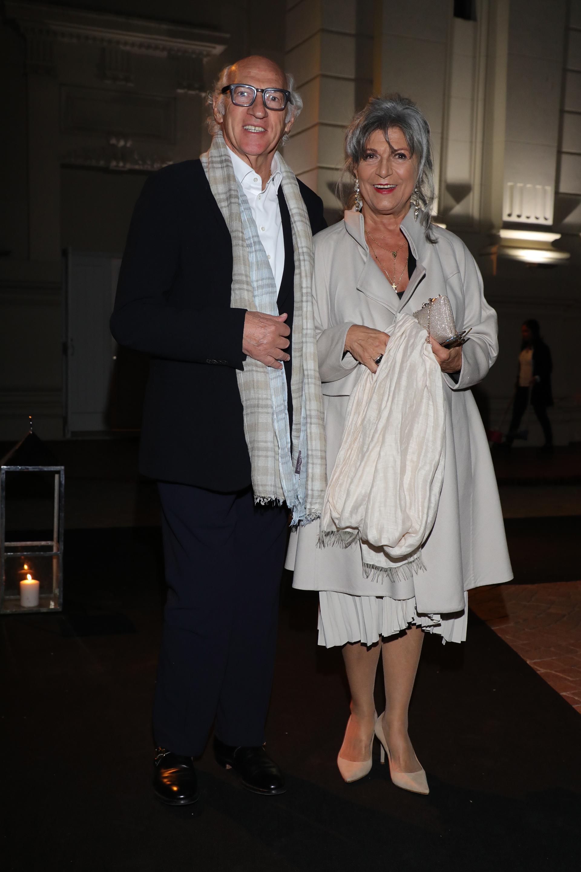 Carlos Bianchi y su mujer