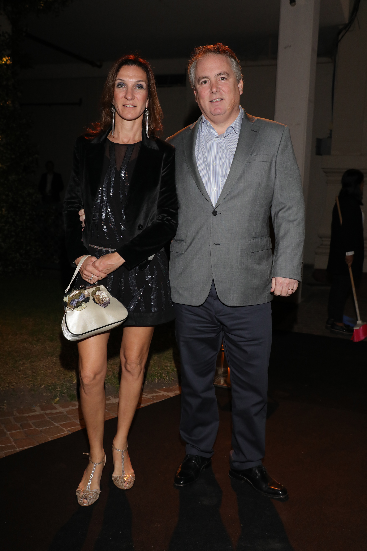 Eduardo Estrada (Grupo Sancor Seguros) y su mujer