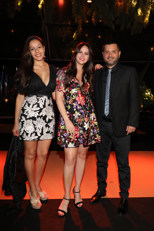Natalí Márquez recibió al cantante Jorge Rojas y a su pareja