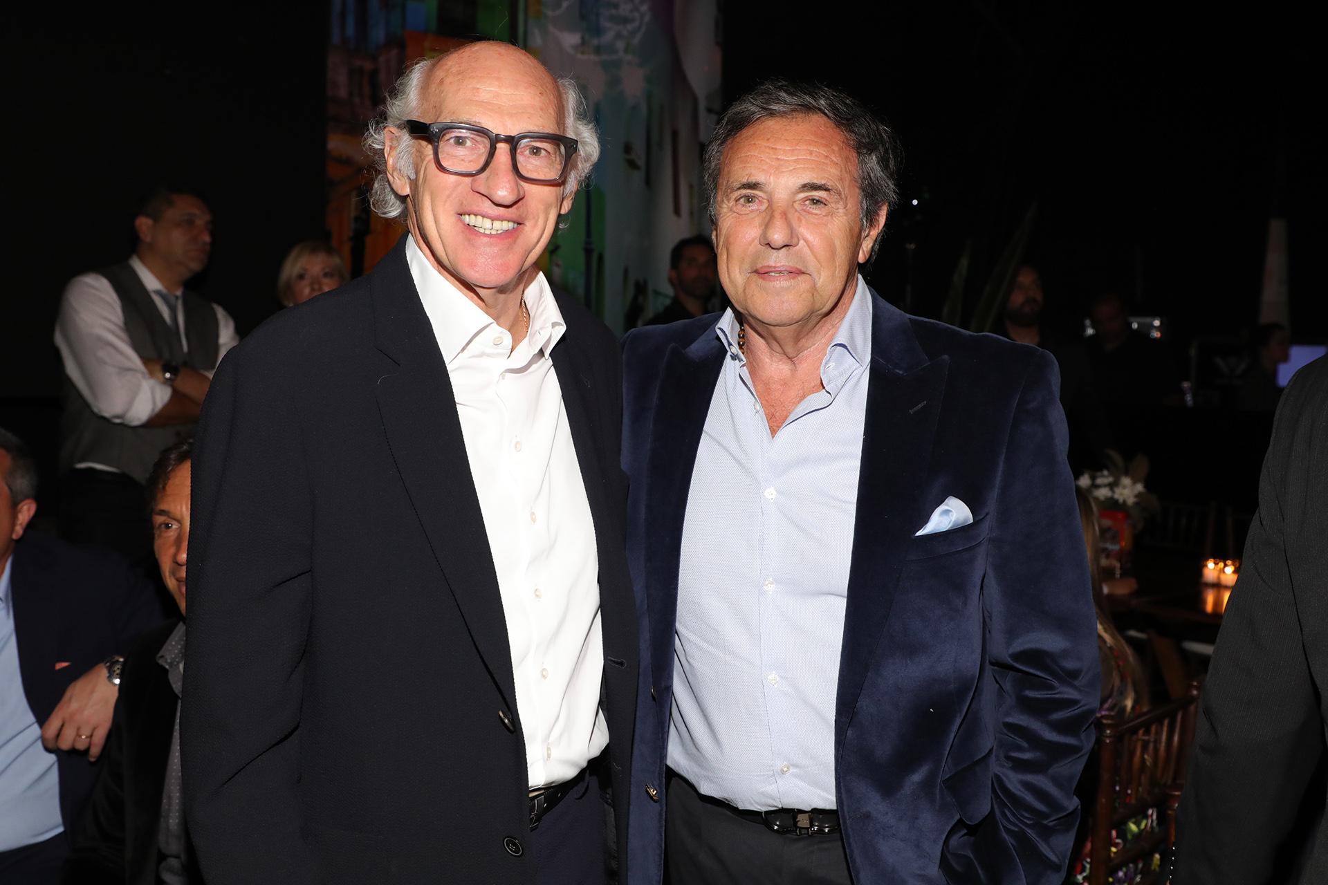 Carlos Bianchi y Jorge Sánchez Cordova