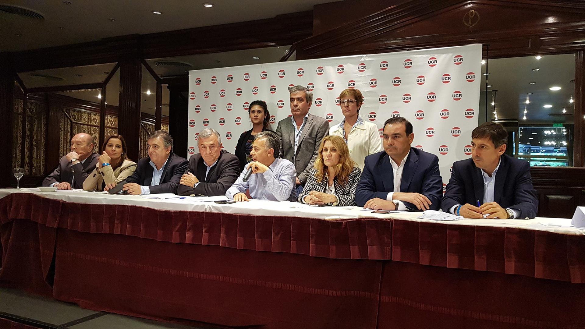 """""""El subsidio social debe ir directamente a las personas"""", señaló Cornejo. (Prensa UCR)"""