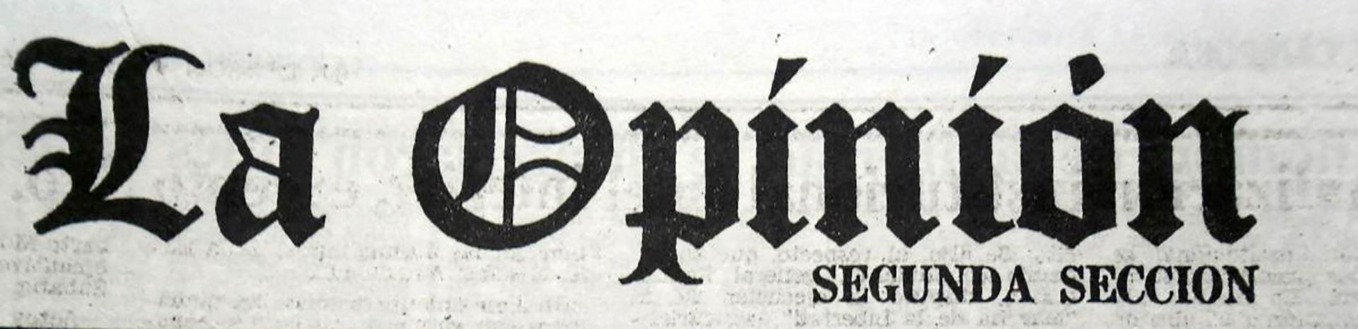 El diario la Opinión fue fundado en 1971 por Jacobo Timerman