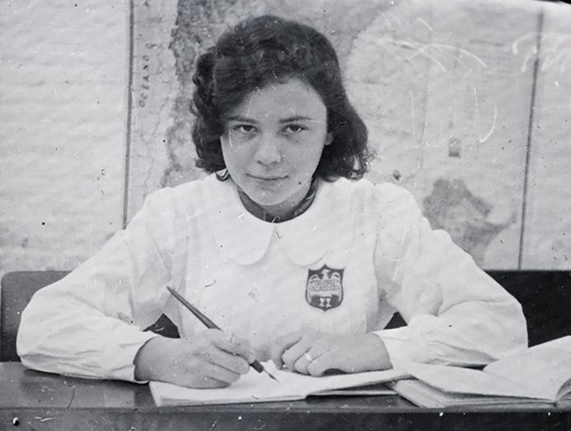 Silvia Hermann, la adolescente que conoció al hijo del criminal nazi