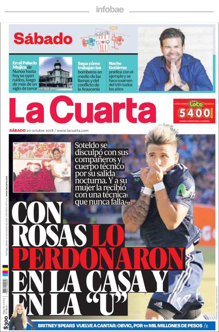 La cuarta – Chile – 21 de Octubre de 2018 | RADIO PASION ARGENTINA