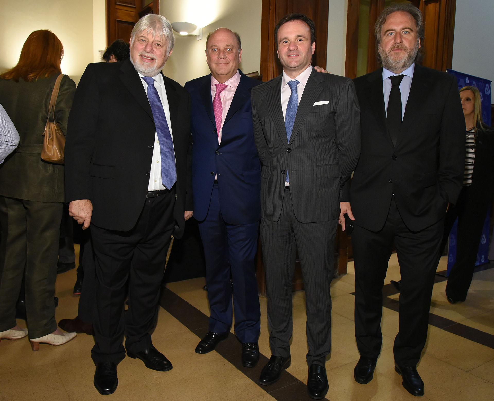 Adrián Werthein, Martín Cabrales, Juan Pablo Maglier y Tato Lanusse