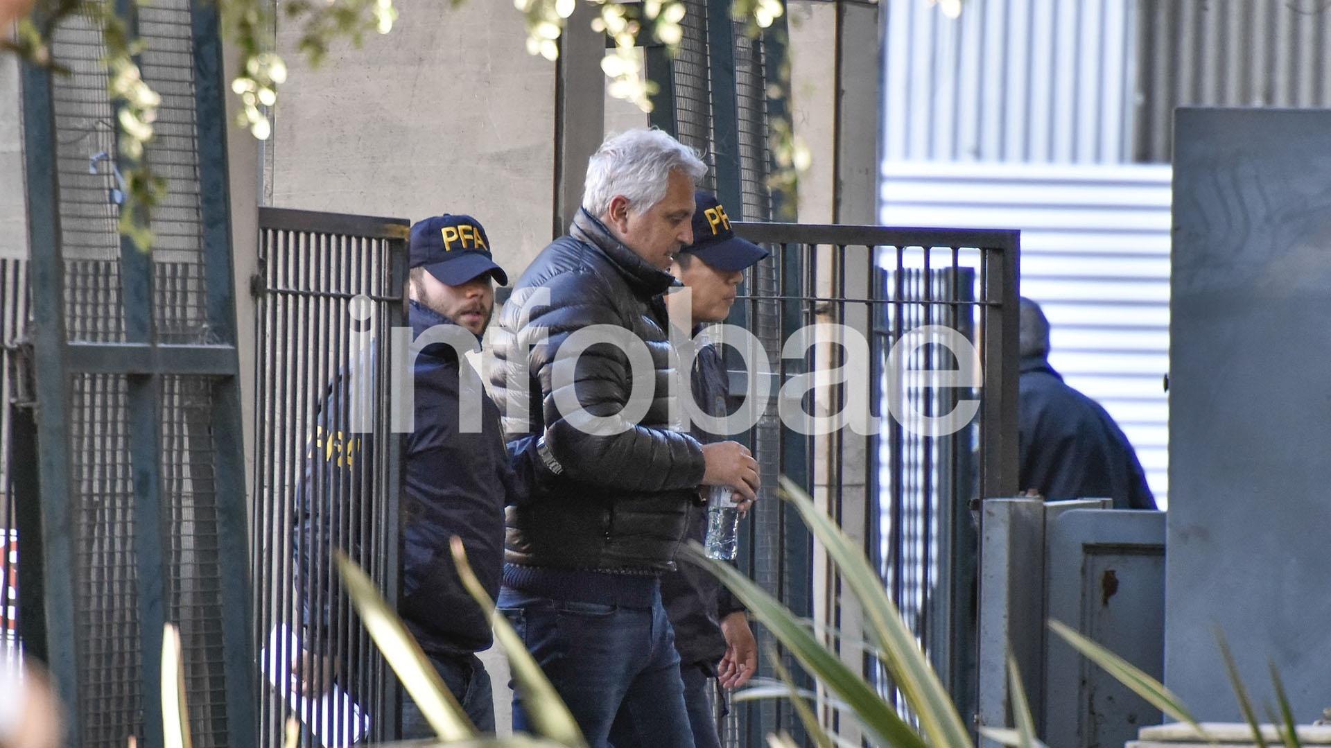 Sergio Todisco, este lunes en Comodoro Py (Foto: Adrián Escandar)