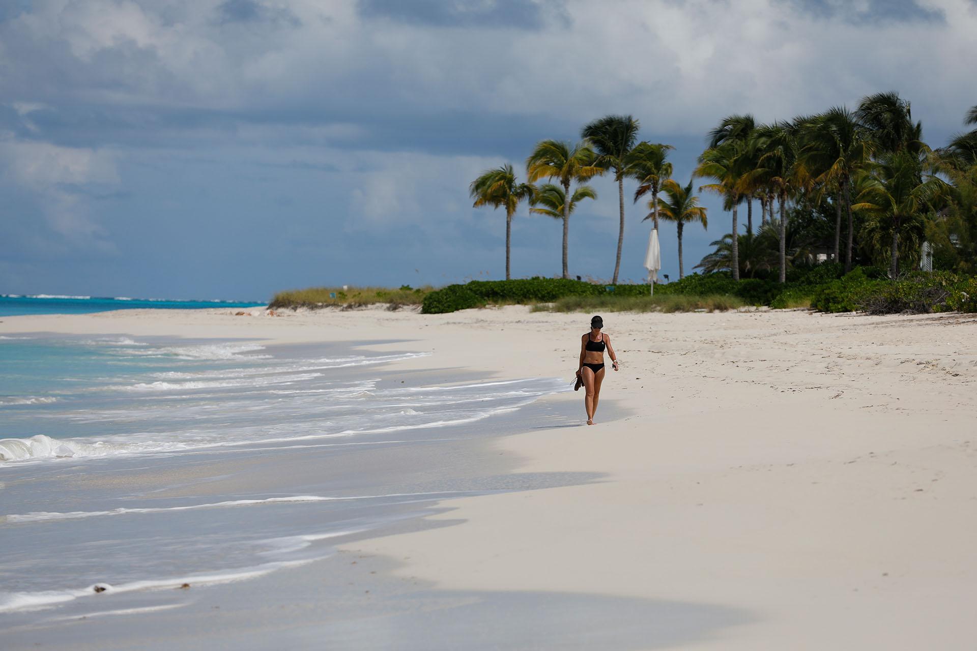Una imagen de las paradisíacas playas de Turk and Caicos (Foto: Chule Valerga)
