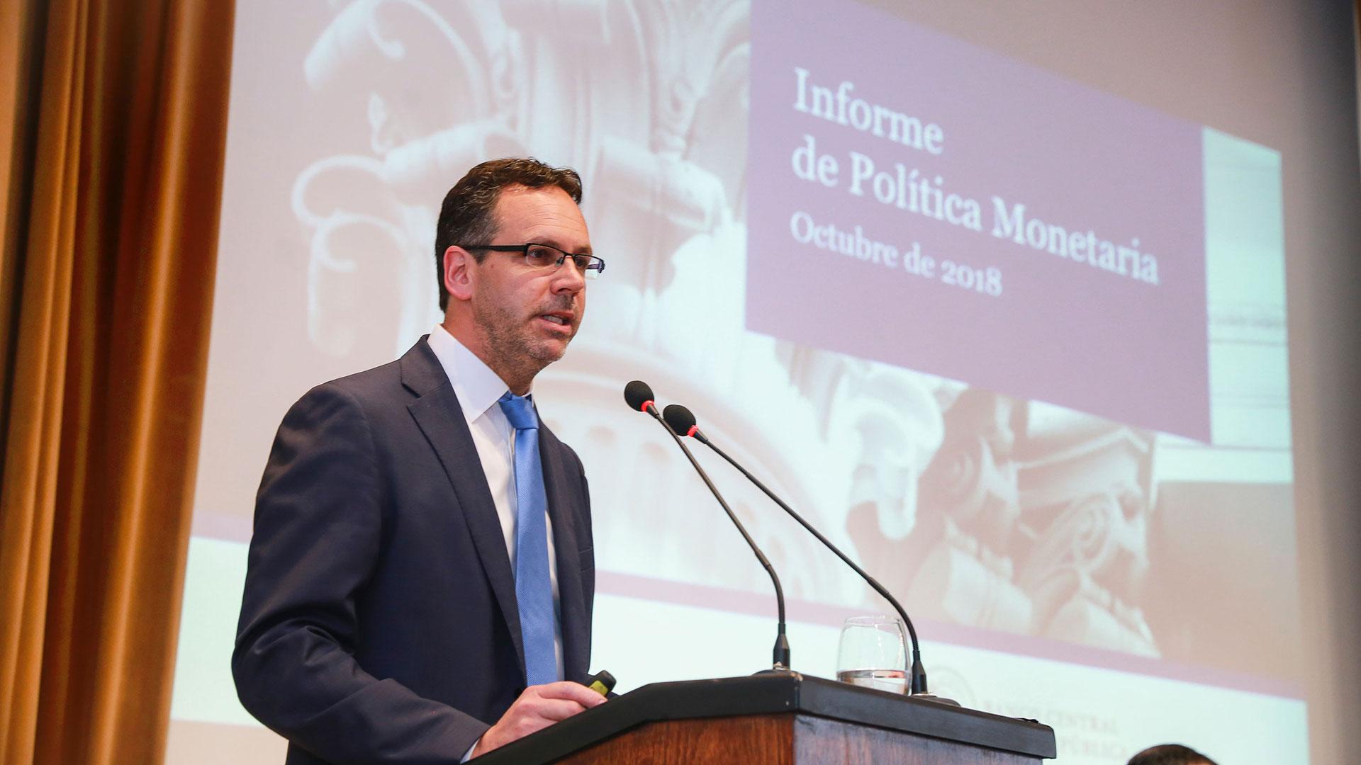 El presidente del BCRA, Guido Sandleris