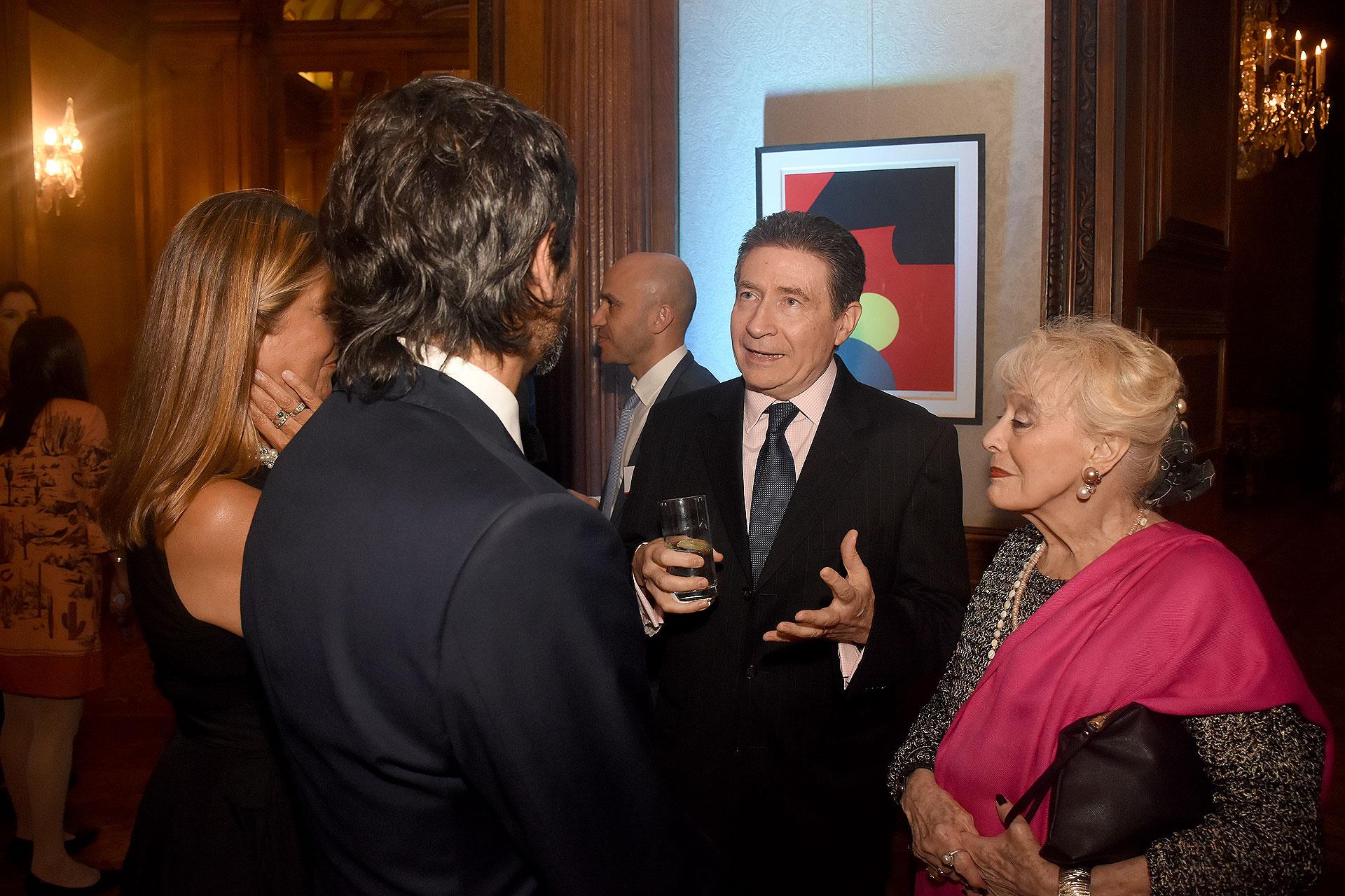 El embajador de Francia y su esposa fueron los anfitriones