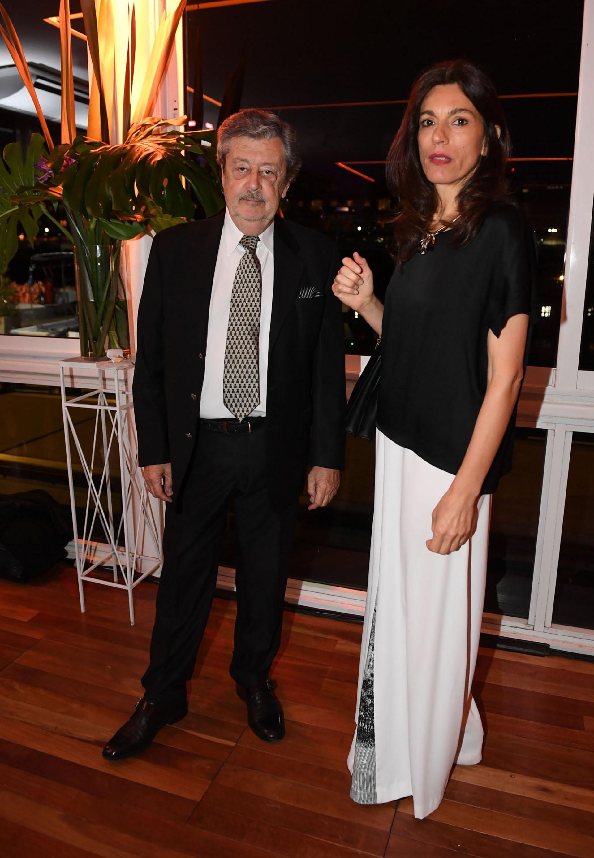 Miguel Schapire y Paola Biscaro