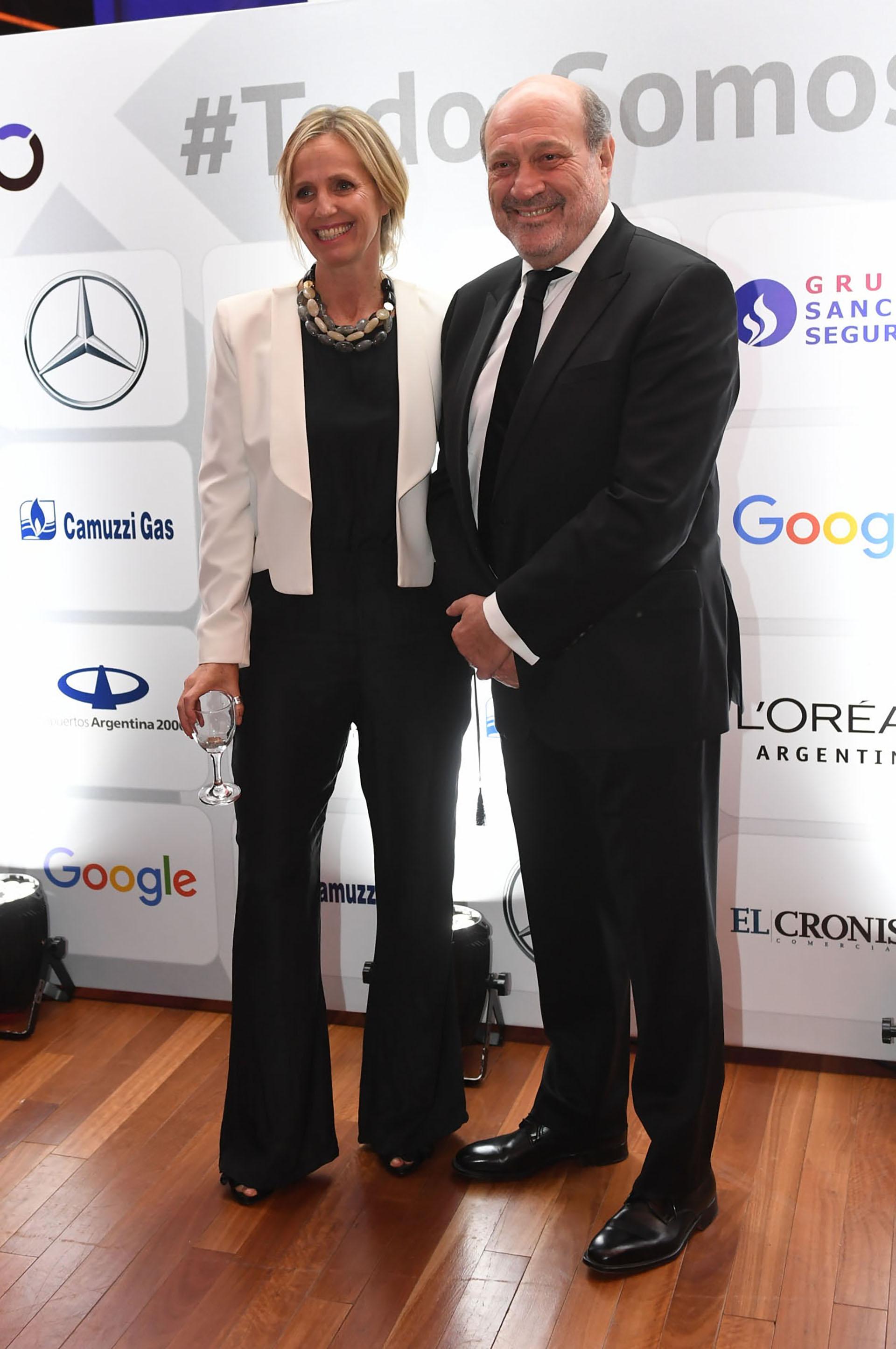 Teresa Torralva y Alfredo Leuco