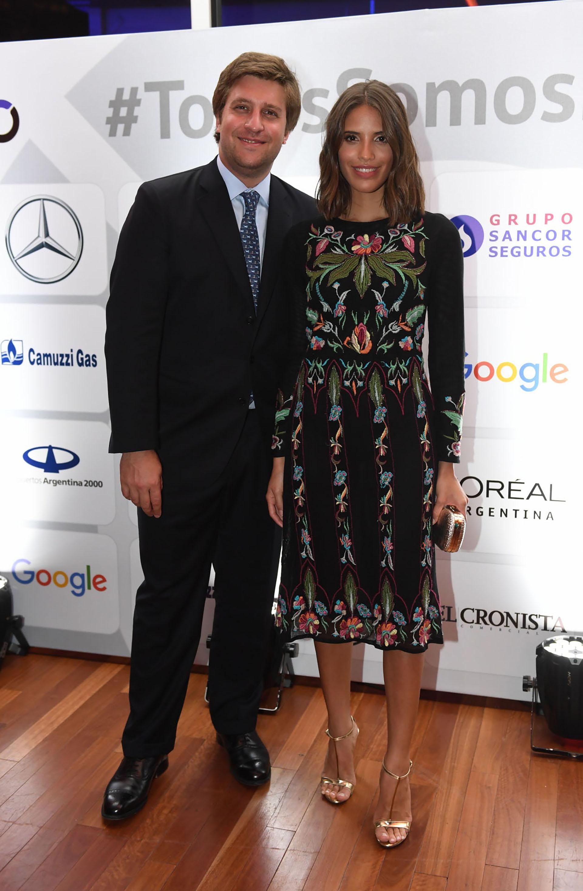 Georgie Neuss y Taina Laurino Ferreira