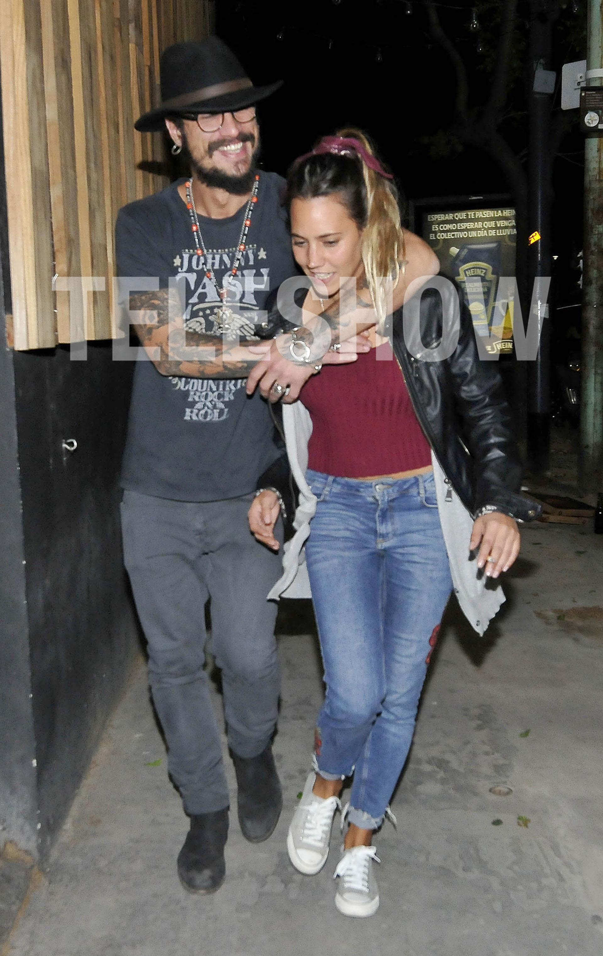 Daniel Osvaldo y su nueva novia