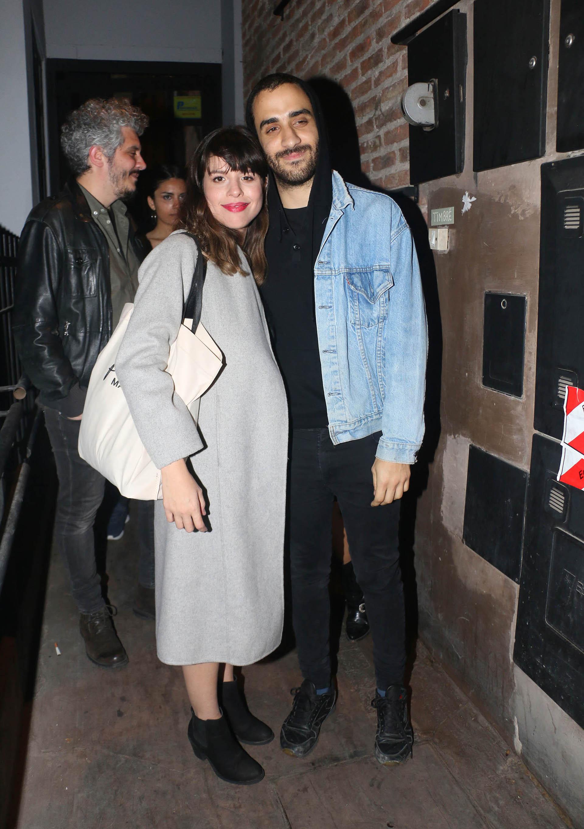 Rosario Ortega y su novio Lautaro Cura