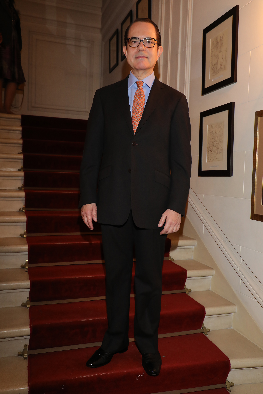 El embajador de Grecia en la Argentina, Dimitrios Zavelakis