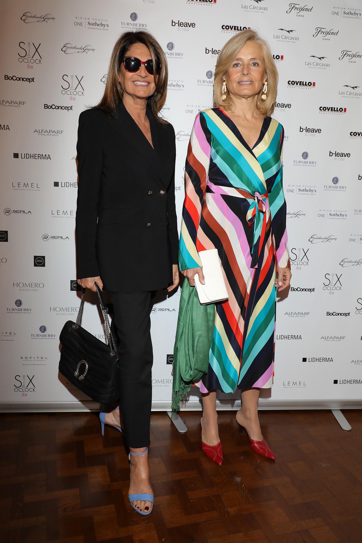 Teresa Calandra y Cecilia Zuberbuhler