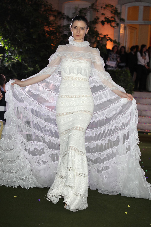 La diseñadora griega vistió a muchas celebridades, entre ellas, Heidi Klum, Britney Spears, Jennifer López, Lady Gaga, Paula Patton, Kim Kardashian y Gwyneth Paltrow