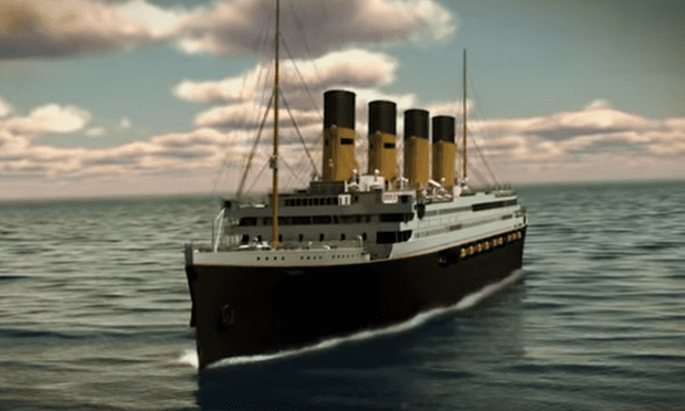 El Titanic II en un video promocional (Clive Palmer)