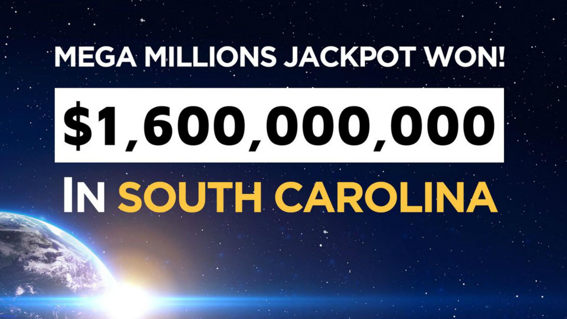 El billete ganador es de Carolina del Sur