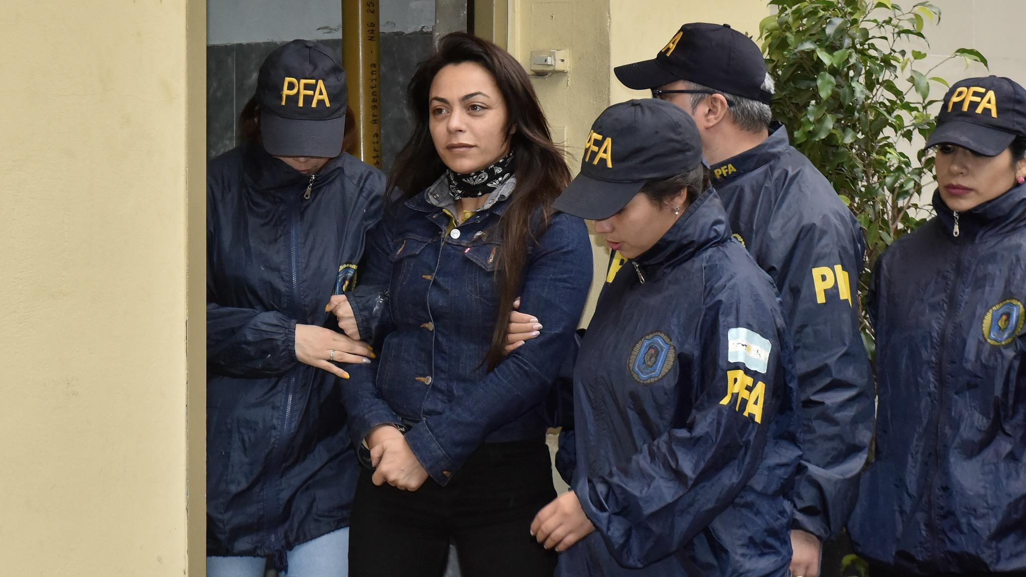 Carolina Pochetti, viuda de Daniel Muñoz, aportó datos en calidad de arrepentida (foto: Adrián Escandar)
