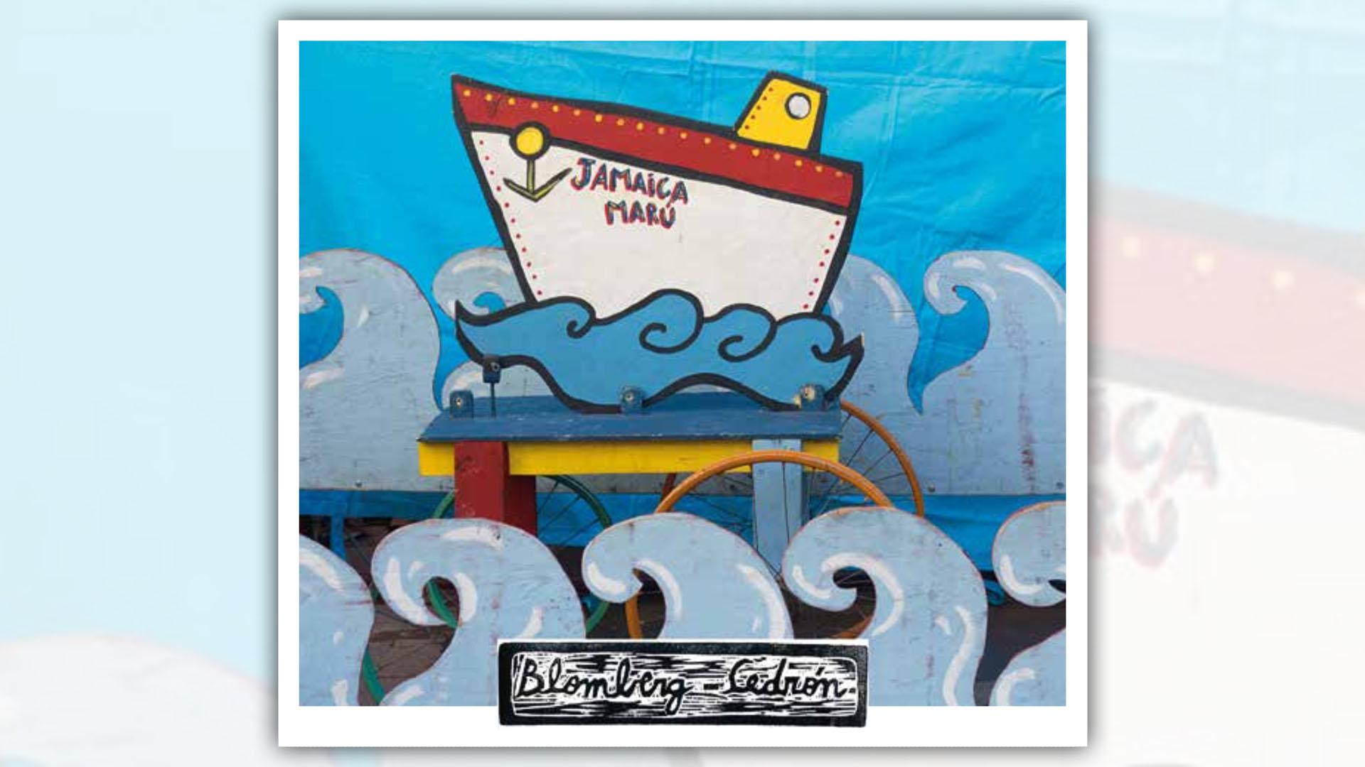 """Portada de """"Jamaica Marú"""", el nuevo álbum de Tata Cedrón."""