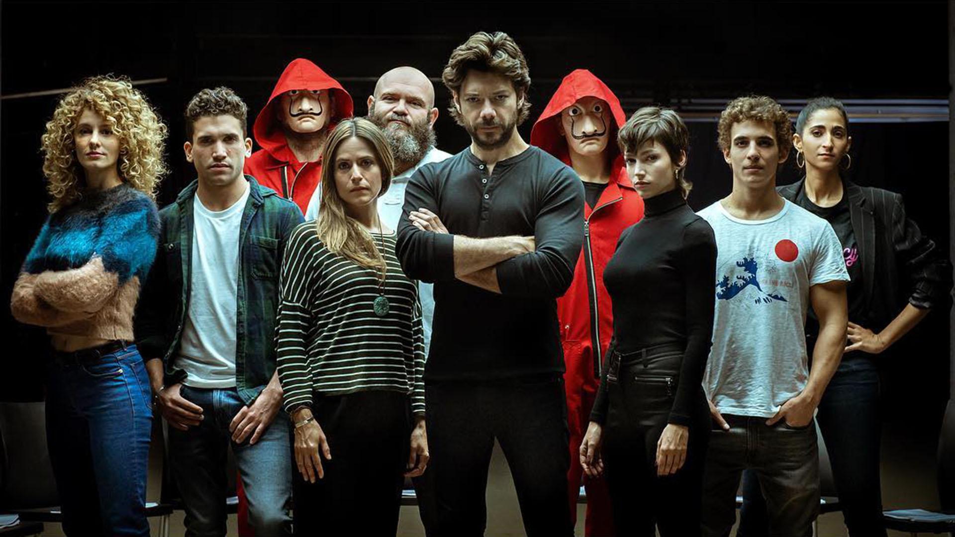 La Casa de Papel lideró las búsquedas en el rubro series y programas de TV.