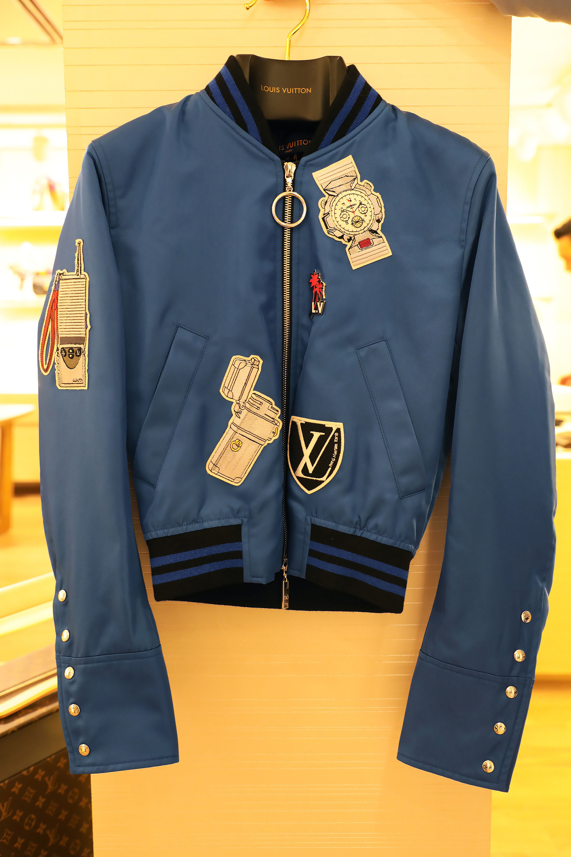 Stickers embroided jacket $ 88.500