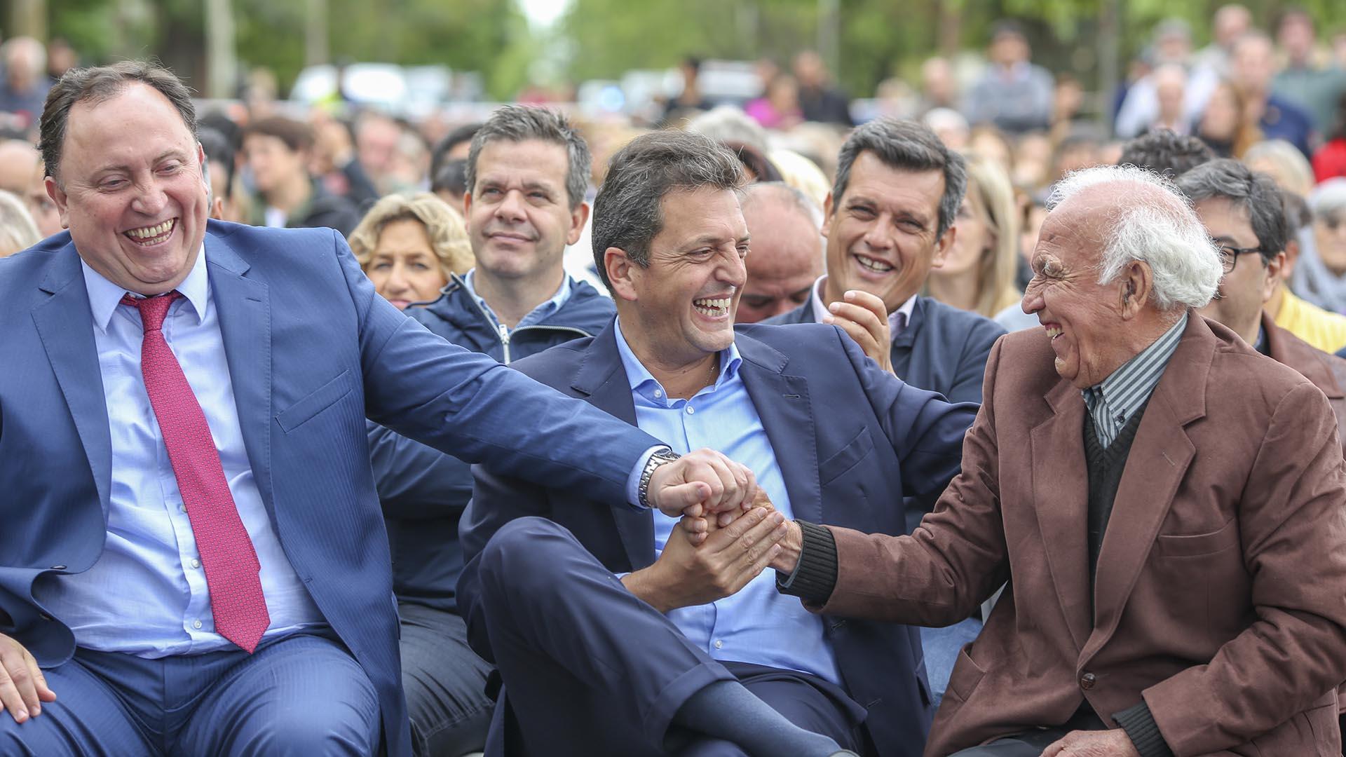 Sergio Massa estuvo junto a los intendentes del Frente Renovador