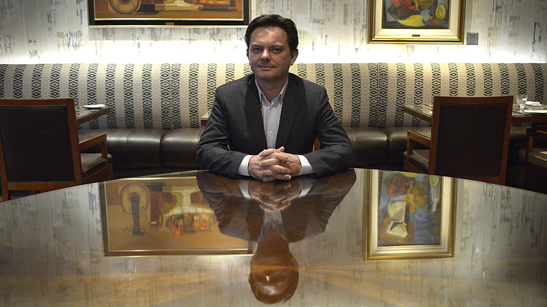 Géraud Boursin, vicepresidente ejecutivo para América de RATP Dev, operadora del Metro de París