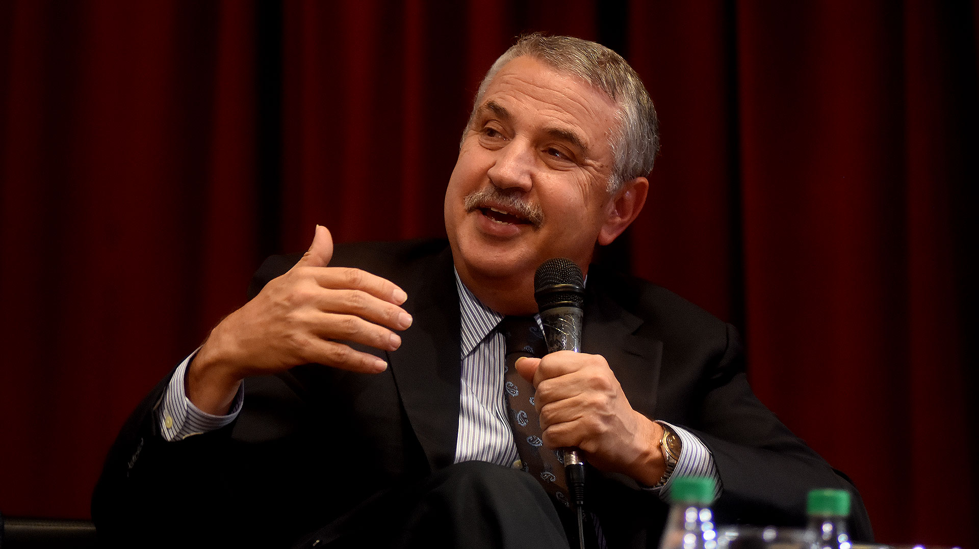 El columnista estrella de The New York Times Thomas Friedman