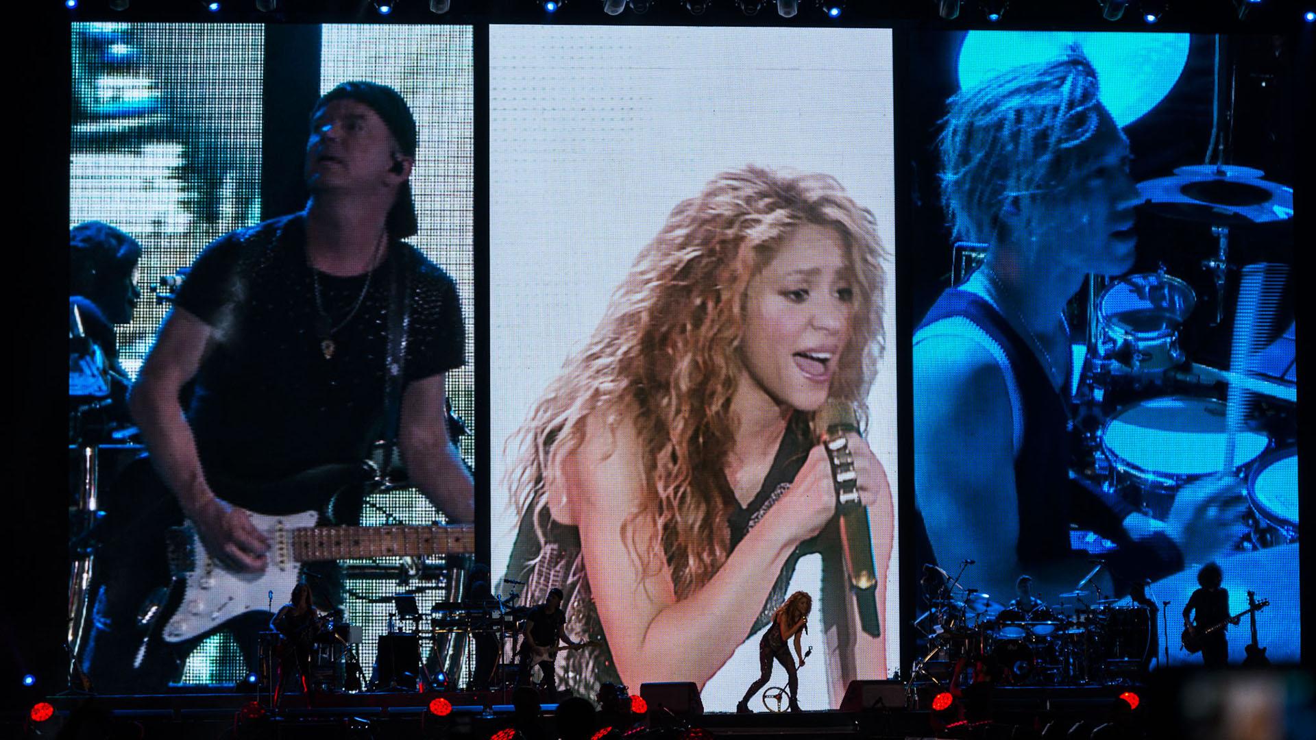 La cantante ya se ha presentado en los Estados Unidos, más de 10 países de Europa y en las últimas semanas estuvo tocando en Latinoamérica: visitó México, Brasil y ahora la Argentina