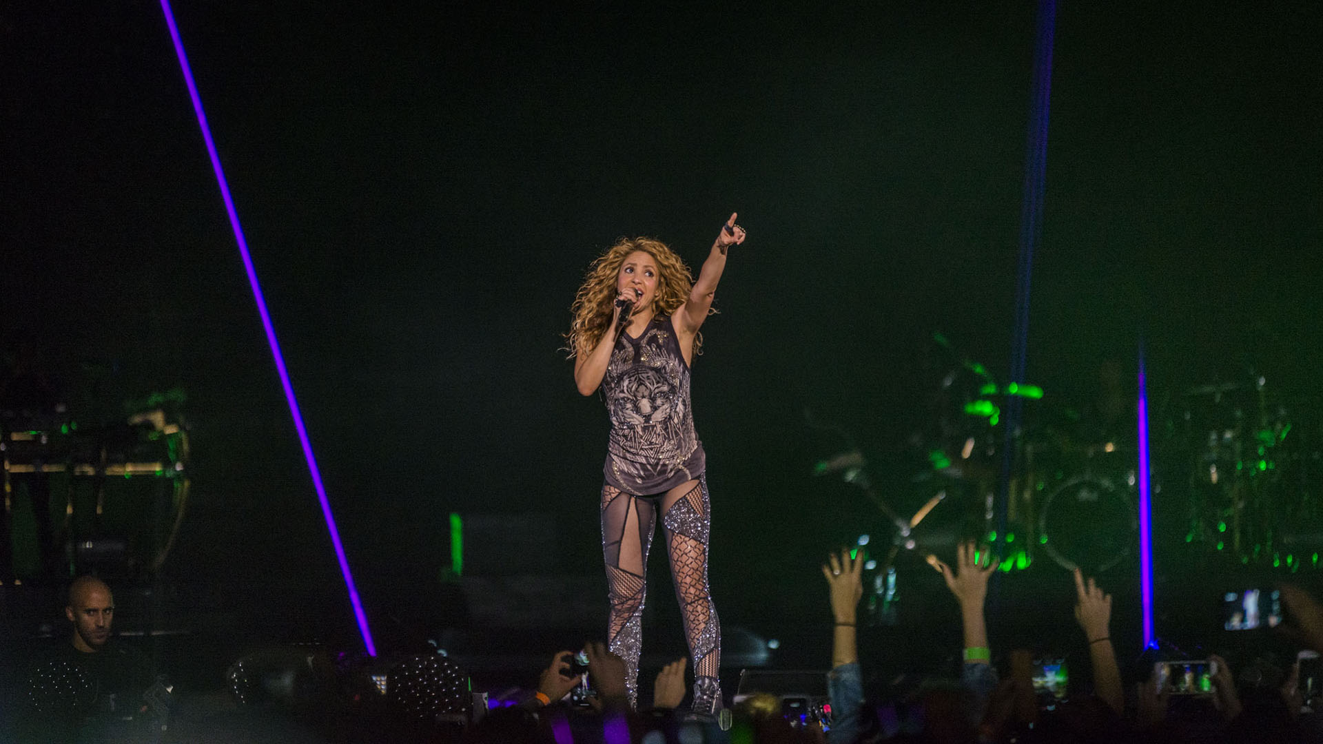 """La cantante colombiana volvió a presentarse en el país en el marco de su gira """"El Dorado"""", tras siete años de su último show"""