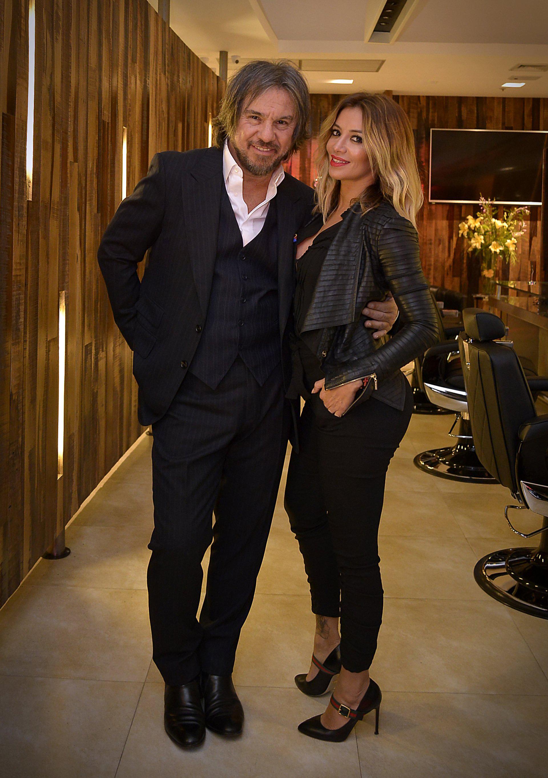 Claudio Cerini y Claudia Ciardone