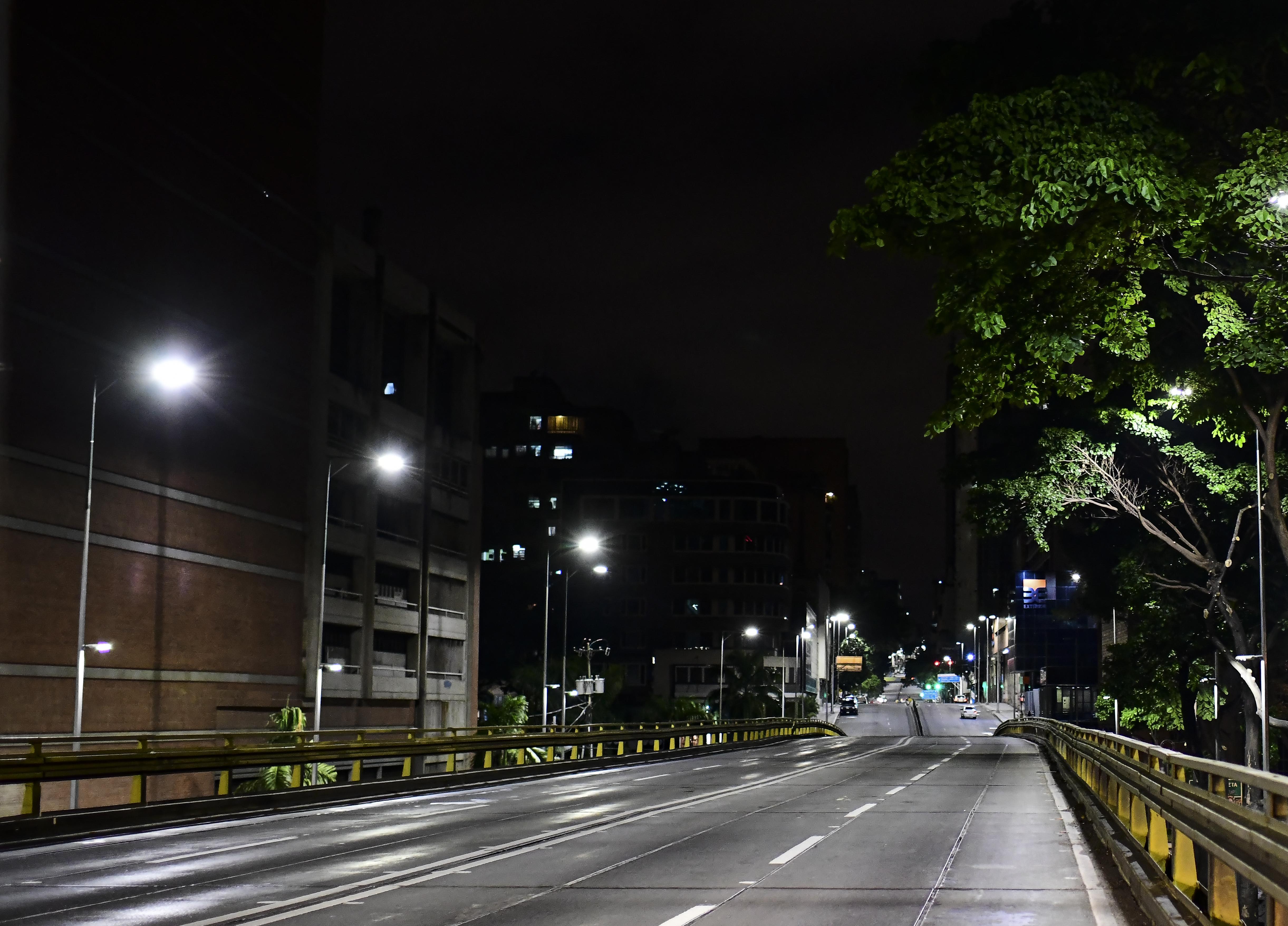 La avenidaUrdaneta. (RONALDO SCHEMIDT / AFP)