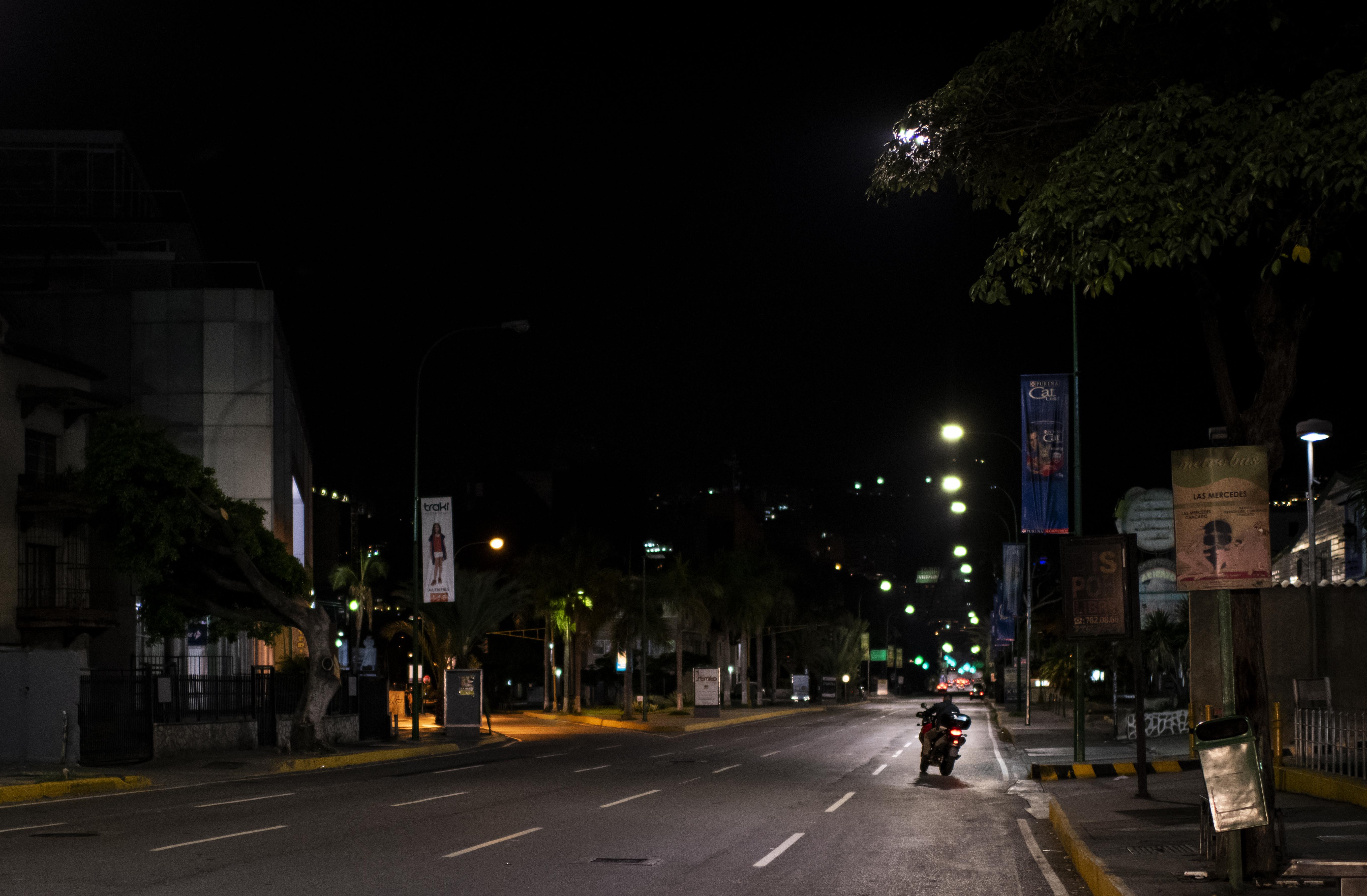 Una calle del distrito Las Mercedes (RONALDO SCHEMIDT / AFP)