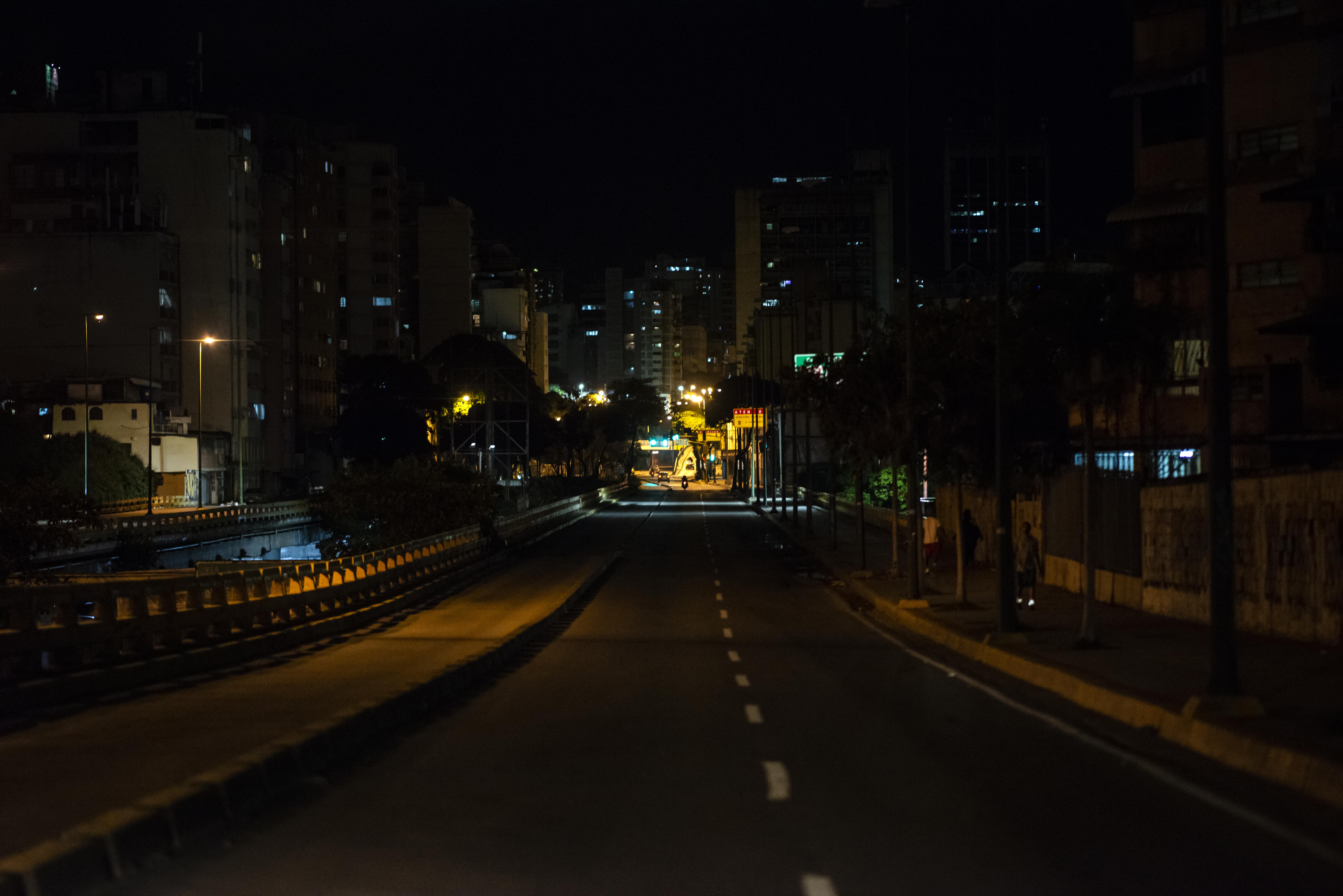 La avenida Nueva Granada (RONALDO SCHEMIDT / AFP)