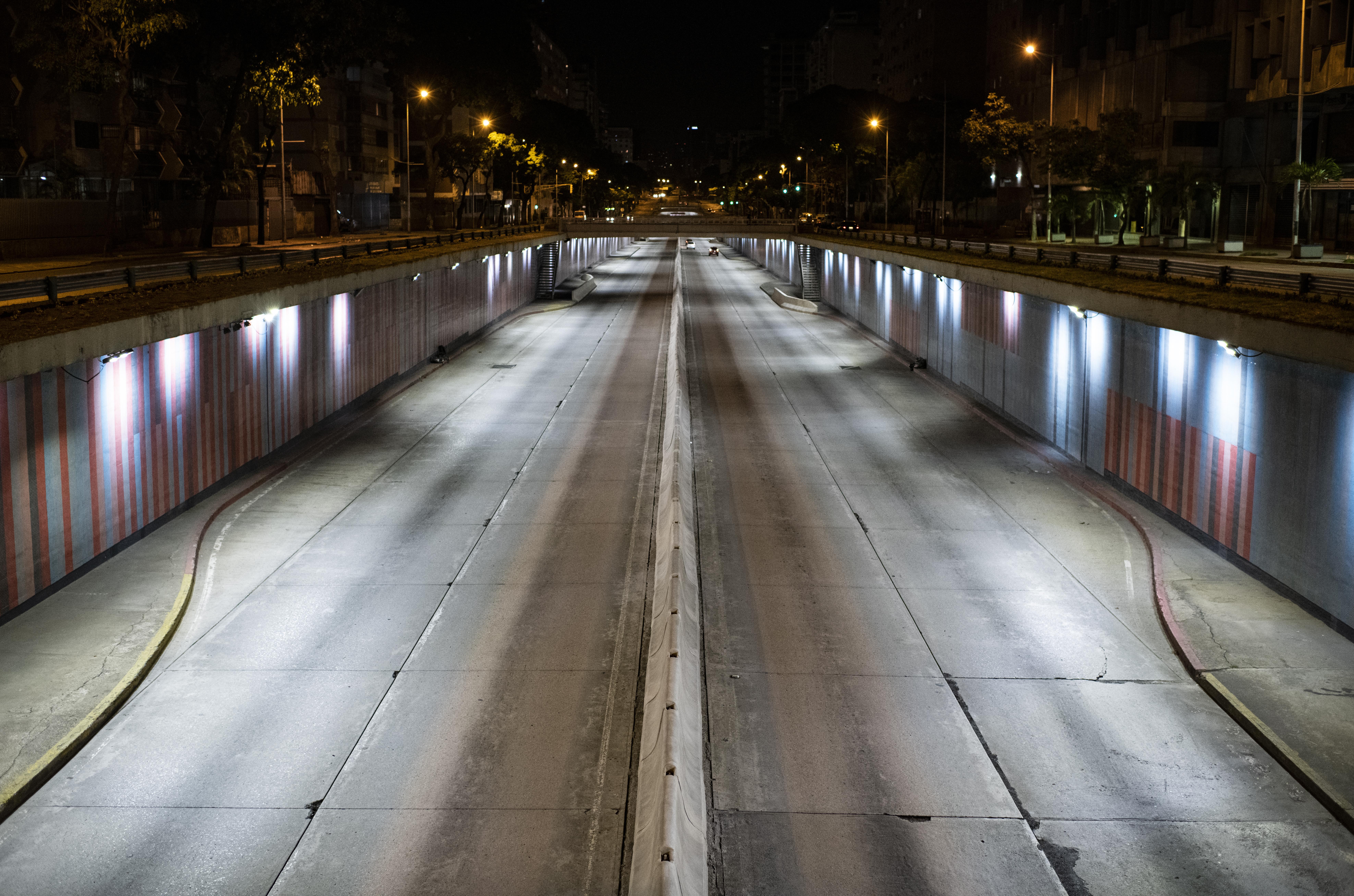 La avenida Libertador. (RONALDO SCHEMIDT / AFP)