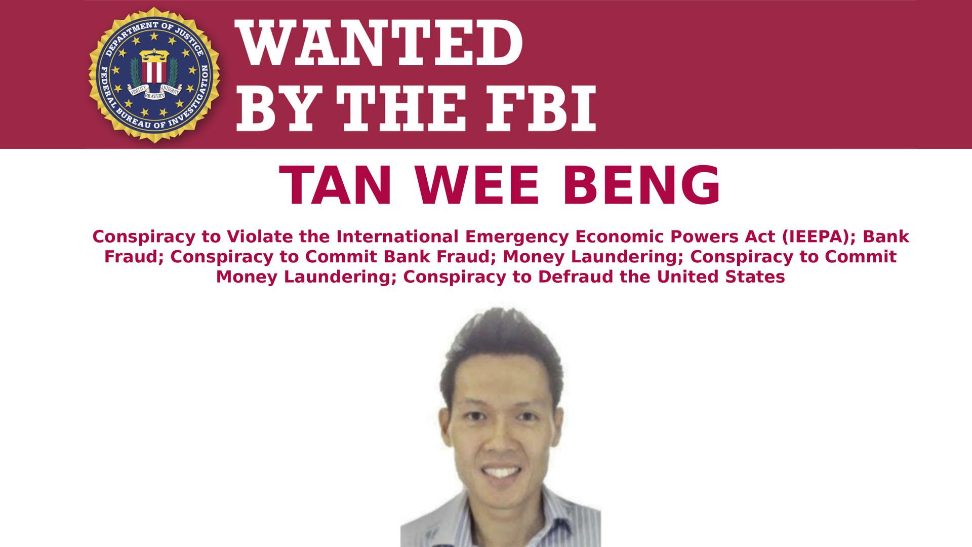 Tan Wee Beng, el empresario de Singapur que está en la mira del FBI