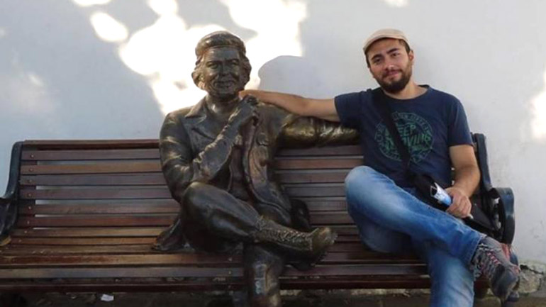 El turco Anil Baran
