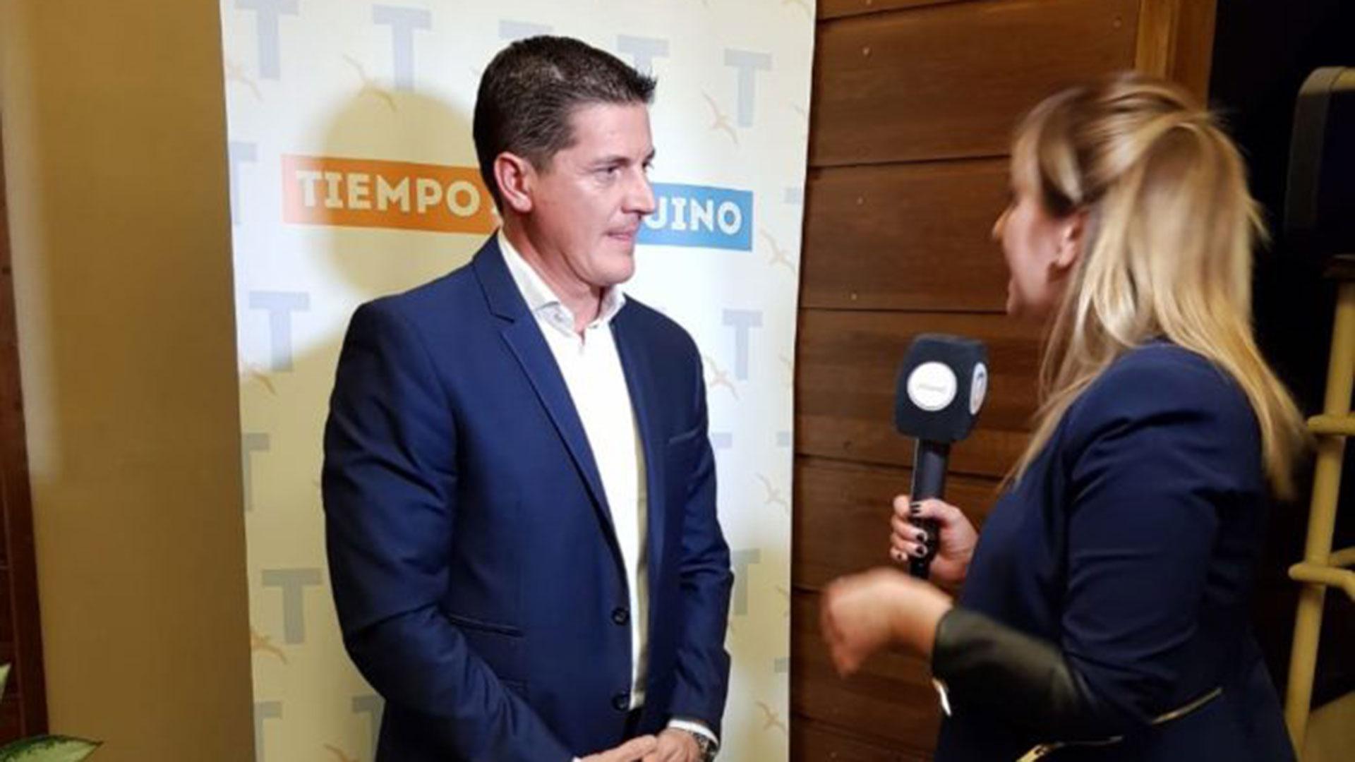 El empresario Fernando Zapata, desde 2015, nuevo dueño del diario Tiempo Fueguino.