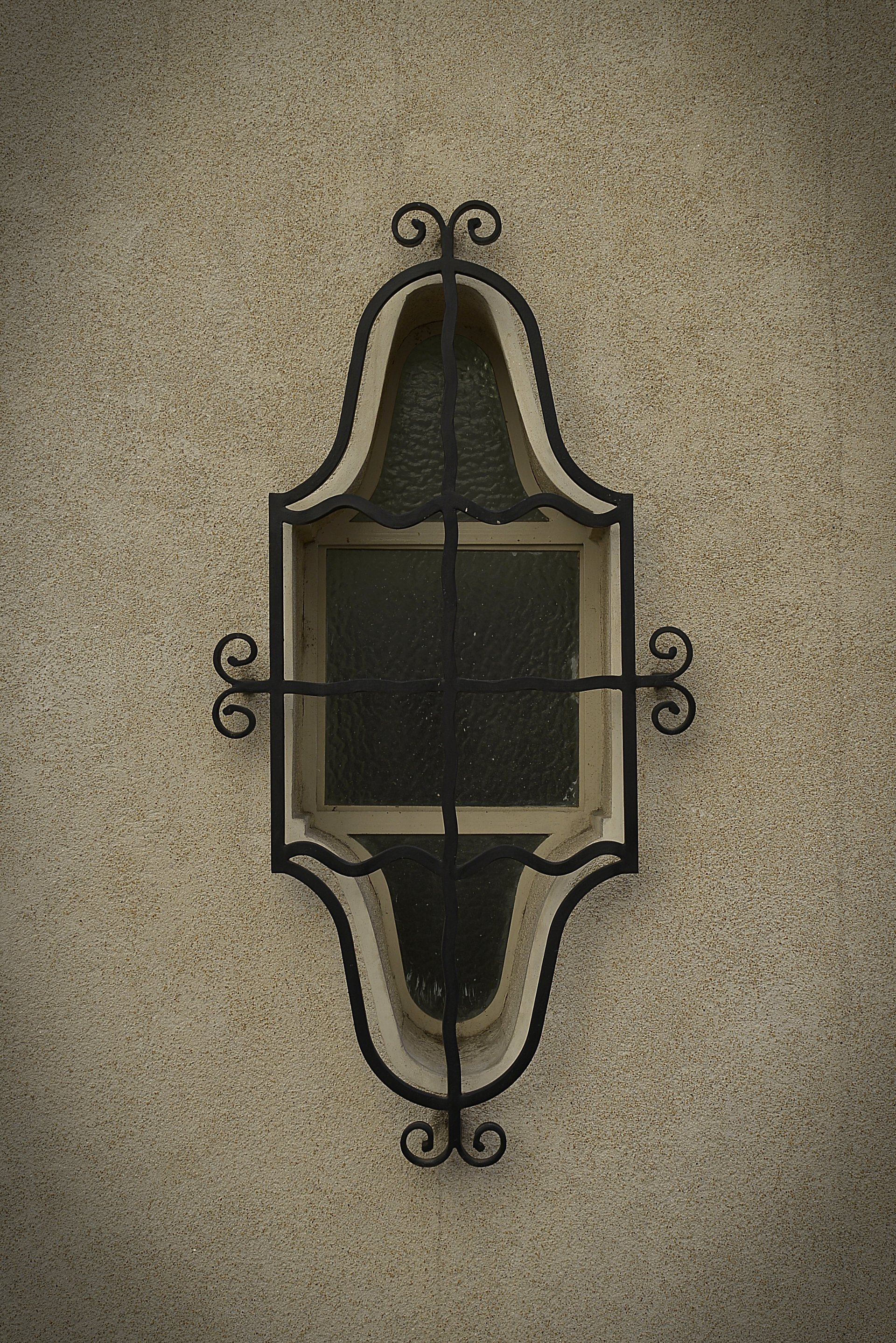 Detalle de ventanal del exterior de la Casa Virasoro