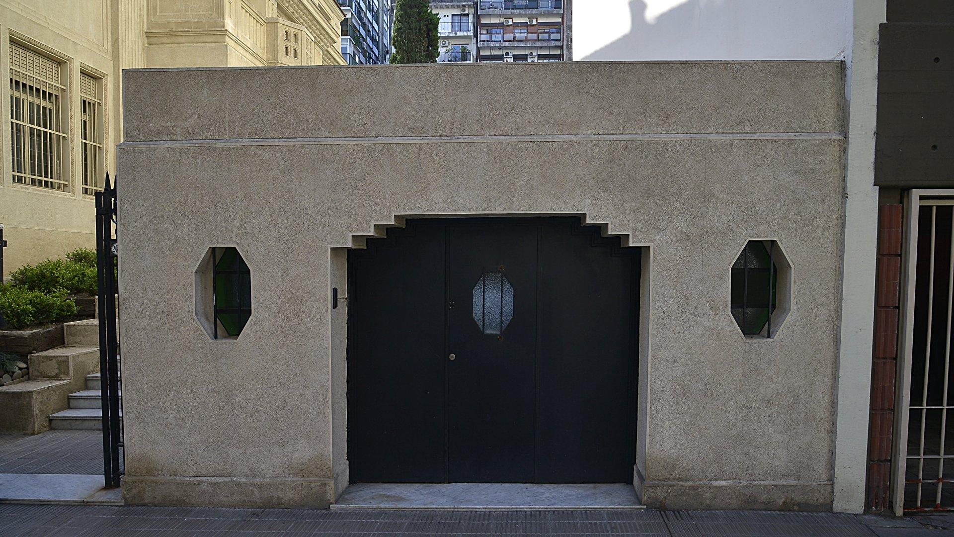 Fachada de Casa Virasoro en el barrio de Palermo