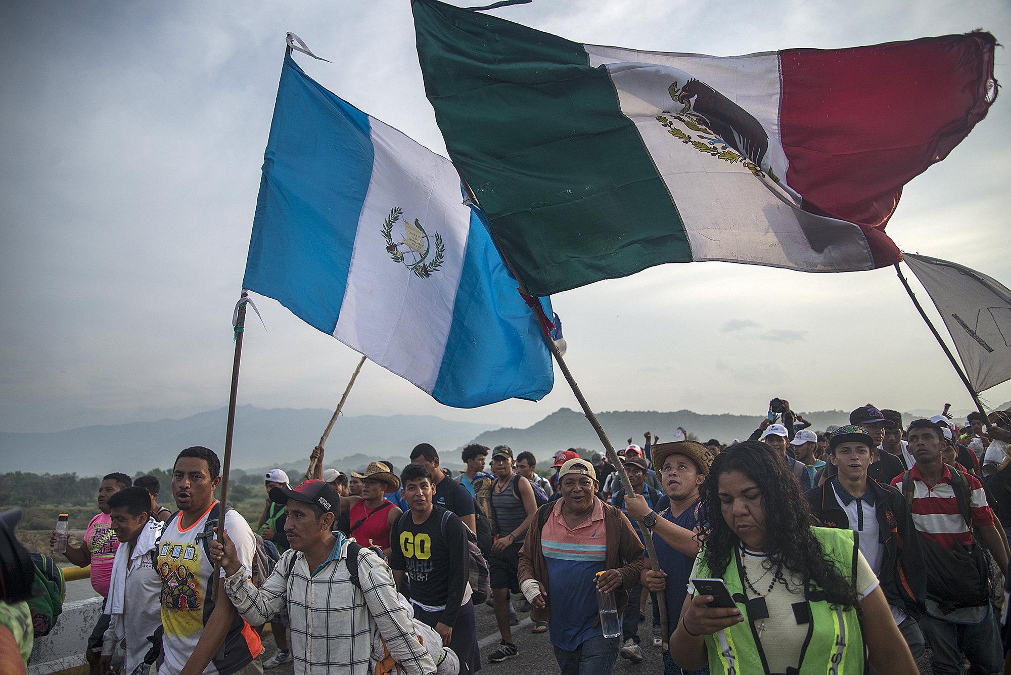 Chiapas es uno de los principales puntos de paso de migrantes centroamericanos en su camino hacia Estados Unidos (Foto: EFE/Luis Villalobos)