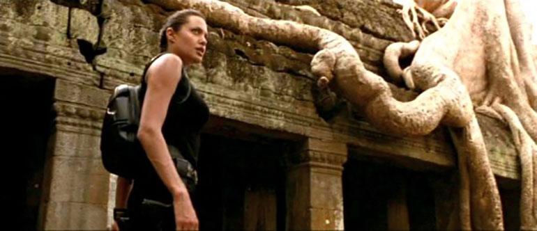 La película tuvo como protagonista a Angelina Jolie y el sitio en dónde transcurre es en Camboya